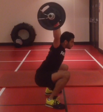Mo 40kg early Snatch
